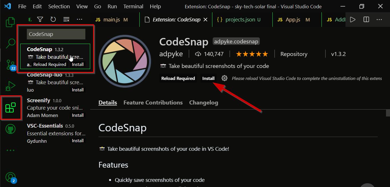 Take a coding screenshot 1