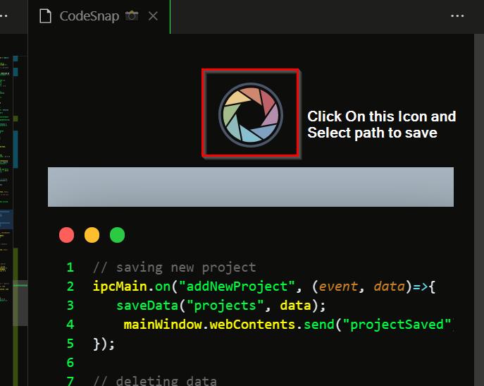 Take a coding screenshot 5